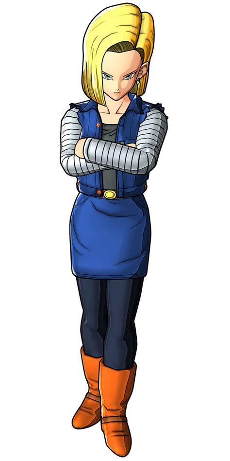 Let us do the job with you! Android 18 Art - Dragon Ball Z: Battle of Z Art Gallery