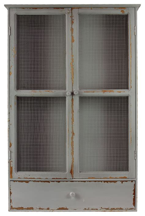 wire mesh for cabinets antique style wood cabinet wire mesh door home storage
