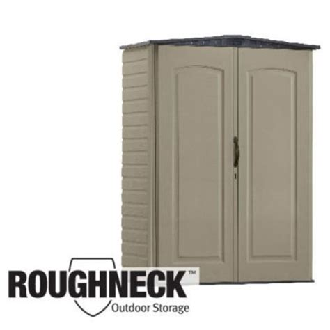 rubbermaid roughneck x small vertical storage shed 3749