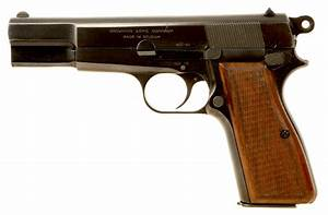 Deactivated Browning Hipower 9mm Auto Pistol - Modern ...