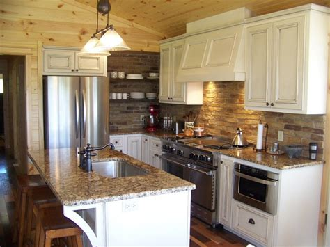 small country kitchen traditional kitchen  metro