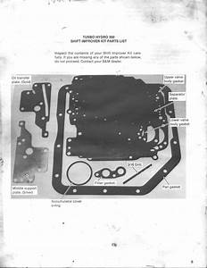 B U0026m Th350 Shift Kit Instructions