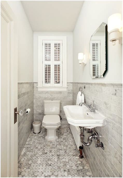 Small Narrow Bathroom Ideas by Tiny Powder Room Modern Browse The Gallery And