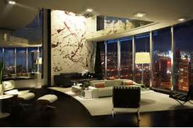 Luxurious Penthouse Dramatic Interior Penthouse Interior Design