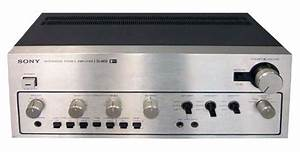 Sony Ta-4650 - Manual - Stereo Integrated Amplifier
