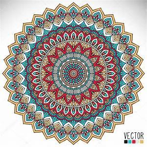 Mandala, Round, Ornament, Pattern, Vintage, Decorative