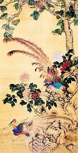 Chinese Phoenix Painting phoenix 2735009, 66cm x 136cm(26 ...