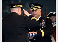 After nearly four decades of service, Gen John F