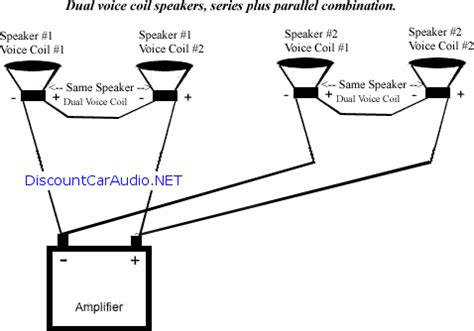 Subwoofer Series Parallel Wiring Diagram by Parallel Series Speaker Wiring Diagrams Discountcaraudio Net