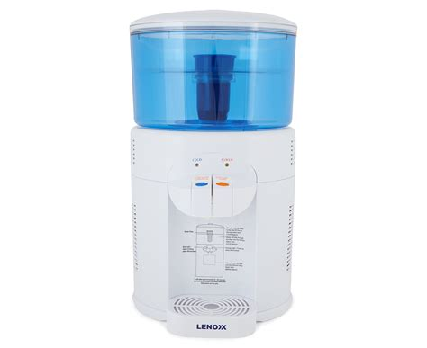 Kitchen Bench Water Filter by Lenoxx 5l Benchtop Water Filter Chiller Scoopon Shopping