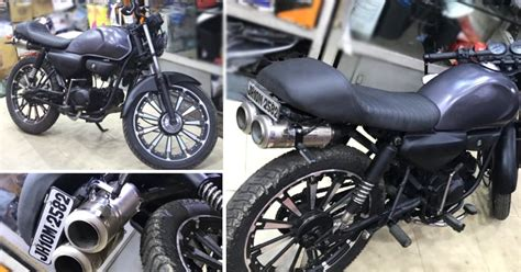 Modified Bikes Cd Deluxe by Modified Honda Cd Deluxe With Dual Underseat Exhaust