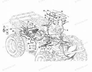 Arctic Cat Atv 1999 Oem Parts Diagram For Wiring Harness Assembly