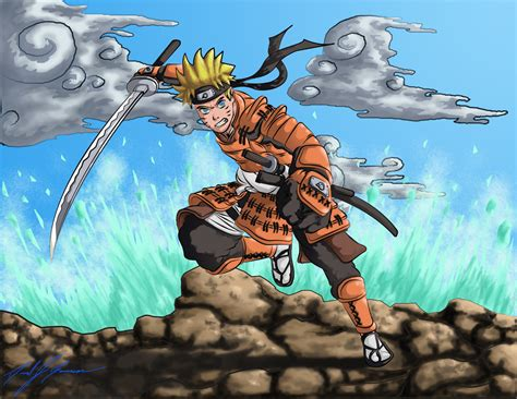 Samurai Naruto Almost Finished By Crucifer01 On Deviantart