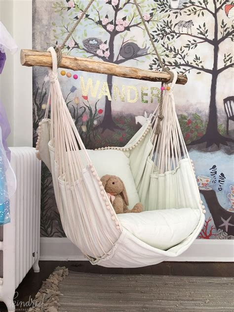 Room Hammock Chair by Kindredvintage Co Summer Tour Rustic Decorating Ideas