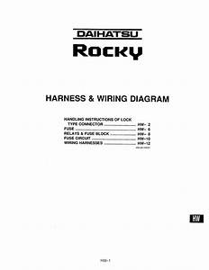 92rocky Hw Harness And Wiring Diagram Pdf  1 52 Mb