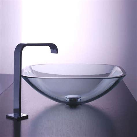 vasque en vasque salle de bain en verre
