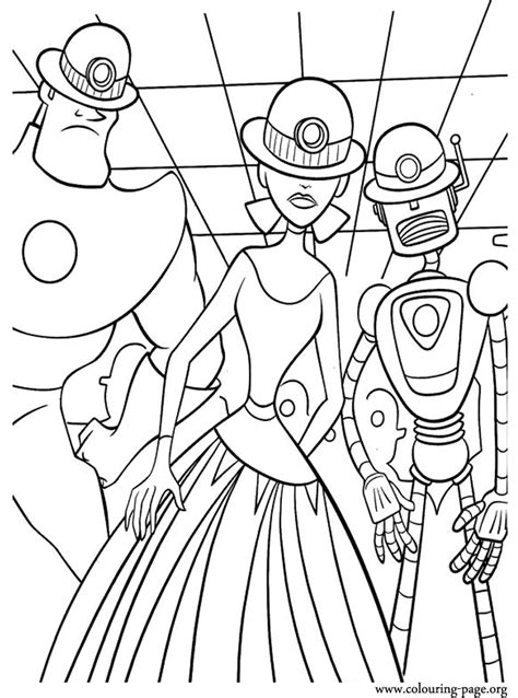 meet  robinsons art framagucci  carl controlled  mini doris coloring page