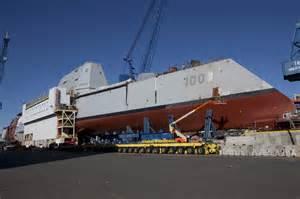 New Navy Destroyer Zumwalt