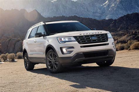 2018 Ford Explorer Suv Pricing  For Sale Edmunds