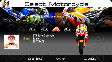 moto gp mod  android ppsspp tips trick