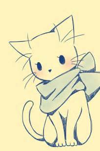 cat drawing easy cat draw sweet image 2282174 by d on