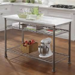 home styles orleans kitchen island home styles the orleans kitchen island with marble top with free shipping kitchensource com
