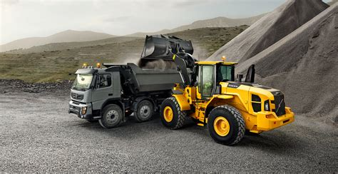 lgz large wheel loaders overview volvo
