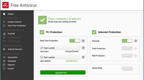 Avira Free Antivirus 2015 Review  Review  Pc Advisor