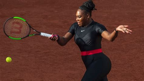 french open dress rules prohibit serena williams