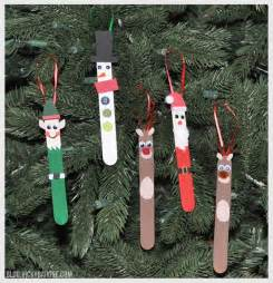diy popsicle stick christmas ornaments vicky barone
