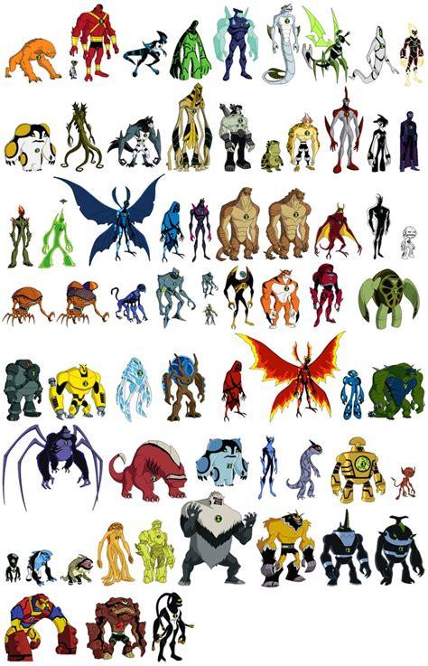 ben 10 omniverse aliens ben 10 omniverse galactic monsters on ben 10