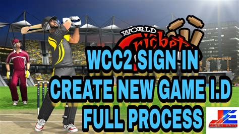 wcc2 how to sign in create play i d process youtube