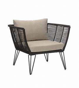 Chaise Exterieur Design : chaise ext rieur en rotin black de la marque bloomingville r ~ Teatrodelosmanantiales.com Idées de Décoration