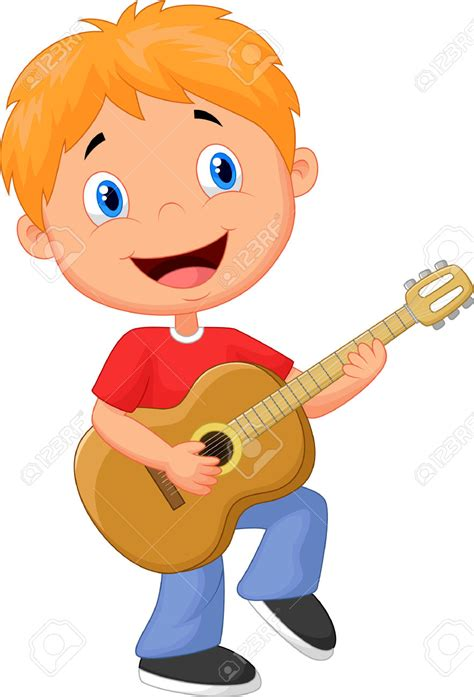 playing cartoon guitar mouth clipart clipground