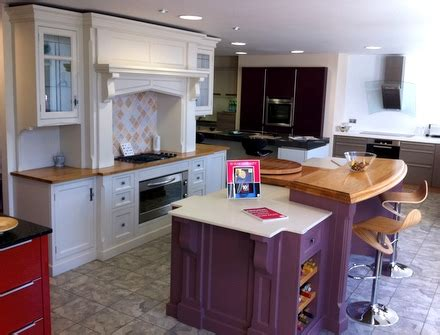 ex display kitchen island for ex display charles yorke bespoke painted kitchen island 9657
