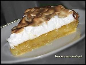 Recette Tarte Citron Meringuée Facile : recette de tarte au citron meringu e facile par chilubru ~ Nature-et-papiers.com Idées de Décoration