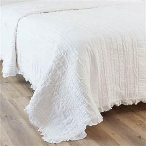 Coussin Exterieur Maison Du Monde : best boutis en coton blanc x cm annelise with coussin de sol maison du monde ~ Melissatoandfro.com Idées de Décoration
