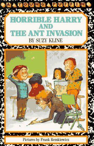 horrible harry   ant invasion  suzy kline