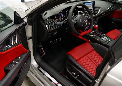 yeah  crimson interior  ridiculousaudi rs