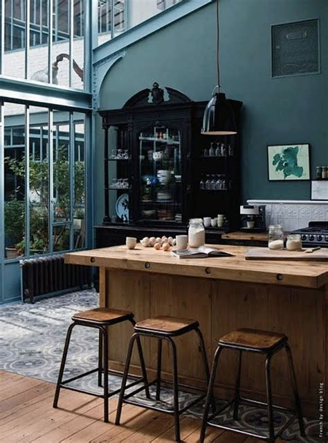 canapé turquoise ikea cuisine industrielle 43 inspirations pour un style