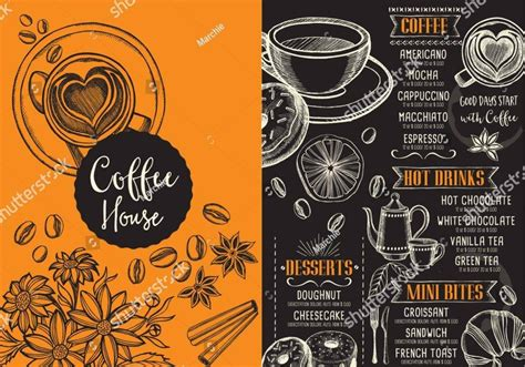 Create free coffee menu flyers, posters, social media graphics and videos in minutes. FREE 15+ Coffee Menu Examples in PSD   AI   EPS Vector ...