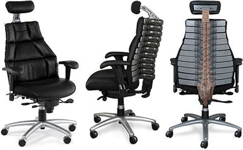 chaise de bureau pour le dos une chaise de bureau avec colonne vertébrale blogeek