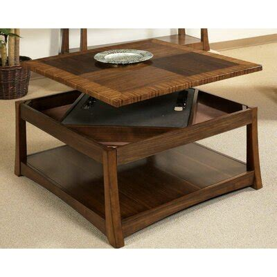 Southport coffee table world menagerie. World Menagerie Andover Dual Coffee Table with Dual Lift-Top & Reviews | Wayfair