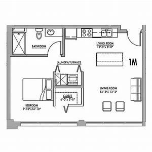 Floor, Plan, 1m