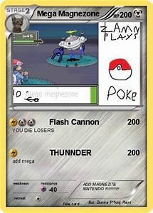 Pokémon Mega Magnezone 4 4 - Flash Cannon - My Pokemon Card
