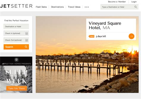Gilt Puts Luxury Travel Site Jetsetter Up For Sale
