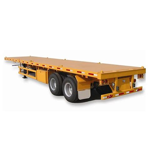 china cheap  axle ft  ft  trailer container