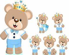 Oso principe irma Pinterest Babies, Clip art and Bears