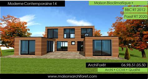 plan maison 3 chambres plain pied garage maison contemporaine moderne et design d architecte