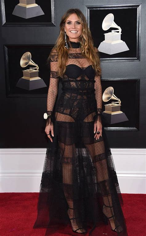 Heidi Klum From Standout Style Moments Grammys